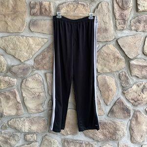 NIKE   Boy's Black and White Sweatpants
